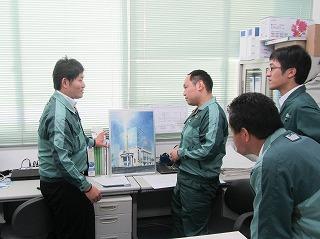 中部支部職場激励訪問2015